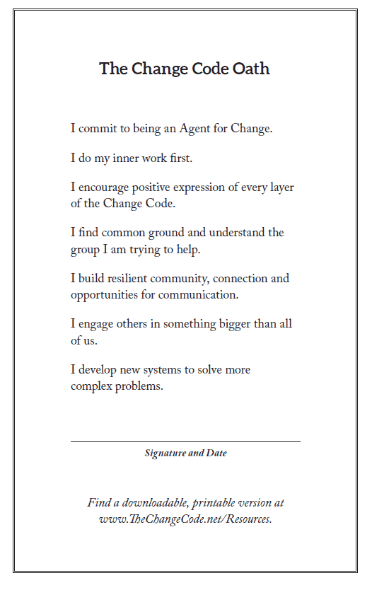 Oath - The Change Code